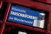 Hachenburg in Westerwald. Veel oude ambachtshuizen. Toeristisch. COPYRIGHT KOEN SUYK