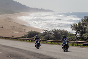 BMW Motorrad South Africa host local journalists at Zimbali Fairmont Resort to experience the BMW S100XR and the 1200RS motorcycles. Image by Greg Beadle
