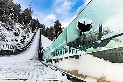 A general view of in-run at preparation of Planica Hill 6 days before FIS Ski Flying World Championships 2020, on December 4, 2020 in Planica, Slovenia. Photo by Matic Klansek Velej / Sportida