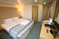 Voyages of Discovery's newly refurbished ship mv Voyager..New Balcony Cabin