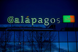 Galapagos N.V. Pharmaceutical laboratory in Mechelen, Belgium. Galapagos has developed a target discovery platform that provides novel starting points for drug and antibody therapies, thereby addressing the industry's need for innovative, disease-modifying medicines. The Company's product portfolio consists mainly of new mode-of-action drugs in bone and joint diseases as well as programs in bone metastasis and cachexia. To enable the progression of a broad portfolio of programs, Galapagos has established risk sharing alliances with big pharma companies such as Johnson and Johnson, GlaxoSmithkline and Roche, and Janssen Pharmaceutica, in specific disease areas. Through an alliance with MorphoSys, Galapagos is also developing new antibody therapies in bone and joint diseases. Galapagos' service division BioFocus based in the United Kingdom, offers a full suite of target-to-drug discovery products and services to pharma, biotech and patient foundations - encompassing target and drug discovery through to the delivery of pre-clinical candidates. (Photo © Jock Fistick)