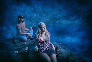 American Dreamscapes / Blue Pool<br /> <br /> Sisters,Oregon,USA,2013
