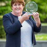 23.05.2018.       <br /> Today, the Institute of Community Health Nursing (ICHN) hosted its2018 community nurseawards in association withHome Instead Senior Care,at its annual nursing conference, in the Strand Hotel Limerick, rewarding public health nurses for their dedication to community care across the country. <br /> <br /> Pictured is, ICHN Nurse Awards Joint Award Winner, Teresa O Dowd Registered General Nurse Lucan Health Centre Dublin. Picture: Alan Place