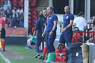 Steven Cooper England Coach during the UEFA European Under 17 Championship 2018 match between England and Italy at the Banks's Stadium, Walsall, England on 7 May 2018. Picture by Mick Haynes.