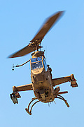 Israeli Air force (IAF) helicopter, Bell AH-1 Cobra in flight
