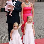 NLD/Apeldoorn/20070901 - Viering 40ste verjaardag Prins Willem Alexander, Willem Alexander, Maxima, Amalia, Elaxia en Ariana