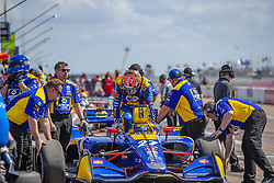 March 9, 2019 - St. Petersburg, Florida, U.S. - ALEXANDER ROSSI (27) of the United States for a practice session for the Firestone Grand Prix of St. Petersburg at The Temporary Waterfront Street Course in St. Petersburg Florida. (Credit Image: © Walter G Arce Sr Asp Inc/ASP)