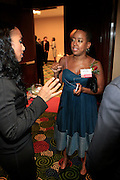 Michelle Murray and Lesley  N. Pickney at The Network Journal 40 under Forty 2008 Achievement Awards held at the Crowne Plaza Hotel on June 12, 2008