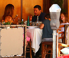 LA: Xabi Alonso Seen On Holiday With Family - 25 July 2017