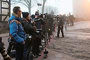 Werkbezoek van Zijne Majesteit de Koning, vergezeld door Hare Majesteit Koningin Maxima aan de Duitse deelstaten Thüringen, Saksen en Saksen-Anhalt<br /> <br /> Working visit of His Majesty the King, accompanied by Her Majesty Queen Maxima in the German states of Thuringia, Saxony and Saxony-Anhalt<br /> <br /> op de foto / On the Photo:  Pers / Press