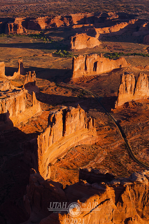 Courthouse Towers, The Organ, Tower of Babel, Sheep Rock and the Three Gossips