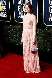 January 6, 2019 - Beverly Hills, Kalifornien, USA - Emma Stone bei der Verleihung der 76. Golden Globe Awards im Beverly Hilton Hotel. Beverly Hills, 06.01.2019 (Credit Image: © Future-Image via ZUMA Press)