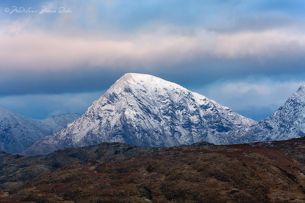 Winter Macgillycuddy's Reeks, County Kerry, ireland / ba054
