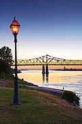 Natchez, Mississippi, Historic Under The Hill District, Natchez-Vidalia Bridge