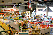 Fresh produce shop Orange Blossom Groves.  Seminole Tampa Bay Area Florida USA