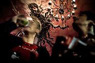 """Jai Brianen Muchchito kontzertuaren ostean. Ondarrun (Euskal Herri), 2013ko Urriaren 10an. Marabilli sormen festibala"""" Aitzol Aramaio zenaren indarrarekin jaiotako egitasmo bat da eta helburua da hainbat artista Ondarroan biltzea, idazleak, musikariak, zinegileak, antzerkilariak, artista plastikoak, diseinatzaileak...  (Josu Trueba Leiva / Bostok Photo)"""