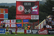 All Square during the EFL Sky Bet League 1 match between Accrington Stanley and Scunthorpe United at the Fraser Eagle Stadium, Accrington, England on 1 September 2018.