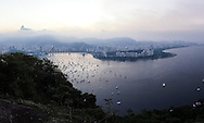 A panoramic view of Rio de Janeiro from the top of Morro da Urca. Scenes from Rio de Janeiro on the day that Brazil drew 0-0 with Mexico. Photo by Andrew Tobin/Tobinators Ltd