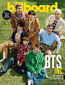 August 26, 2021 - USA: BTS Cover Billboard Magazine