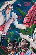 Chapas,San Juan chamula,Murales