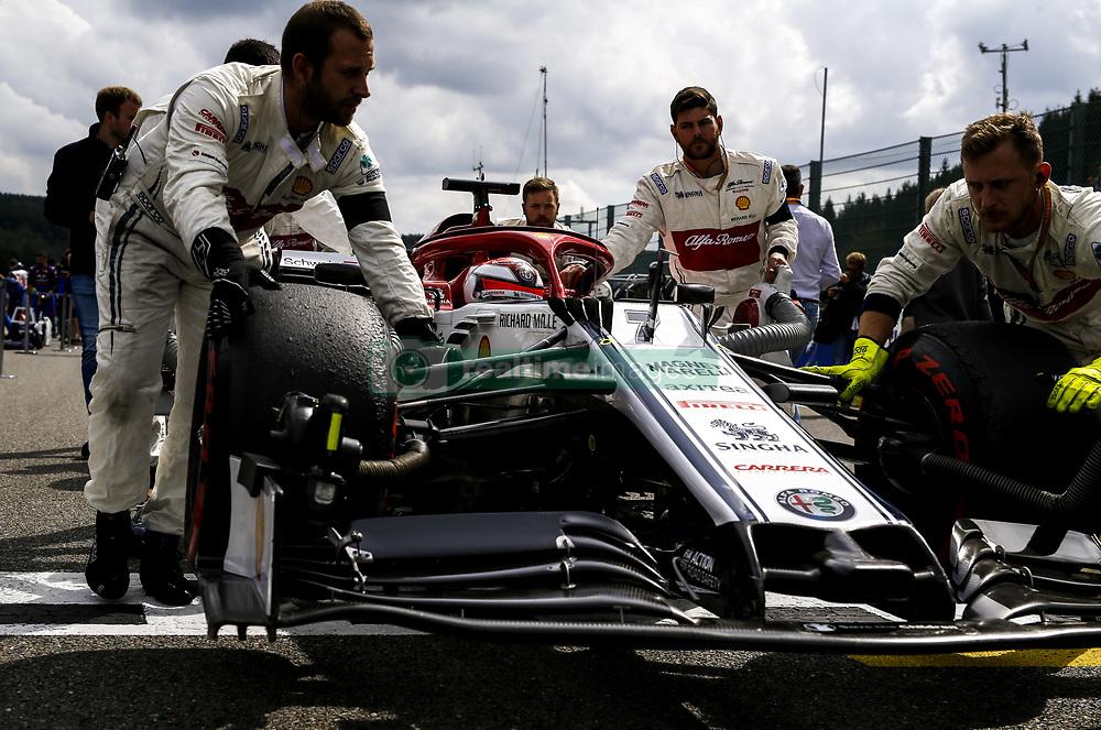 September 1, 2019, Spa-Francorchamps, Belgium: Motorsports: FIA Formula One World Championship 2019, Grand Prix of Belgium, ..#7 Kimi Raikkonen (FIN, Alfa Romeo Racing) (Credit Image: © Hoch Zwei via ZUMA Wire)