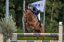 Gill Alex David, GBR, Inaico VDL<br /> Nationaal Kampioenschap KWPN<br /> 6 jarigen springen round 1<br /> © Hippo Foto - Dirk Caremans<br /> 17/08/2020