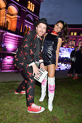 PHILIP COLBERT and BIP LING at the V&A Summer Party in association with Harrod's held at The V&A Museum, London on 22nd June 2016.