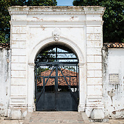 The Fuerte la Polvora, an old Spanish colonial fort on a rise overlooking the historic city of Granada, Nicaragua. It was built in 1748.