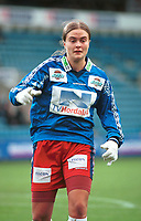 Ingrid Camilla Fosse Sæthre, Bjørnar. Kvinnefotball: Cupfinalen 2000 kvinner. 28. oktober 2000. (Foto: Peter Tubaas/Fortuna Media)