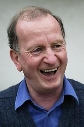 Man laughing,
