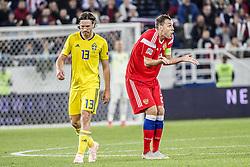 October 11, 2018 - Kaliningrad, Russia - UEFA Nations league, Ryssland - Sverige, 0 - 0. Gustav Svensson, fotbollsspelare, Sverige, (Credit Image: © Bardell Andreas/Aftonbladet/IBL via ZUMA Wire)