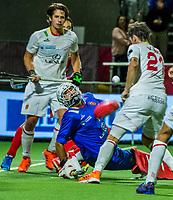 ANTWERP - BELFIUS EUROHOCKEY Championship  . Belgium v Spain (men) (5-0). goalkeeper Francisco Cortes (Esp) . WSP/ KOEN SUYK