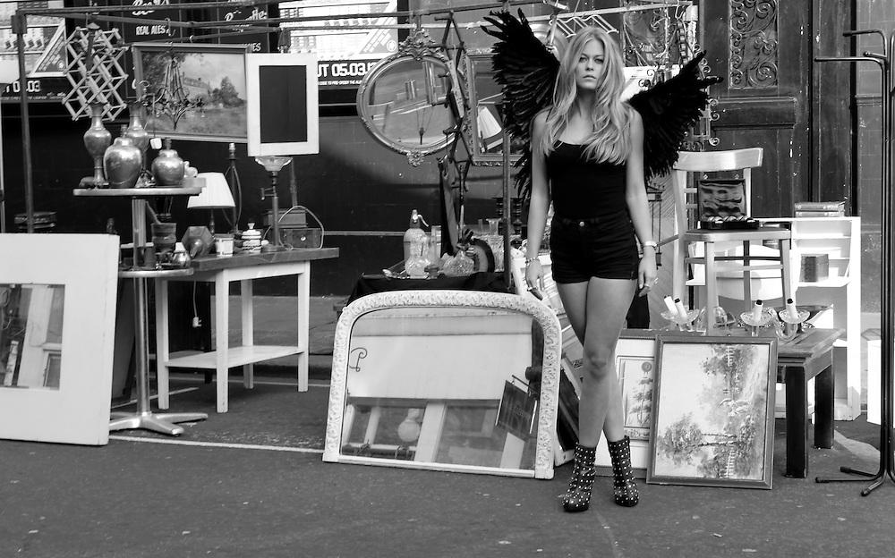 Angel of Portobello<br /> Model: Vendela Palmgren