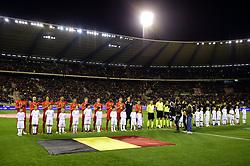 November 10, 2017 - Bruxelles, Belgique - General view of Belgian National football team (Credit Image: © Panoramic via ZUMA Press)