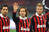 """Andrea PIRLO Milan<br /> Milano 6/1/2010 Stadio """"Giuseppe Meazza""""<br /> Milan - Genoa 5-2<br /> Campionato Italiano Serie A 2009/2010<br /> Foto Andrea Staccioli Insidefoto"""