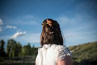 Jackson Hole wedding — Molly McLaruin and Max Nadler