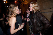 Tilly Wood; Jodie Kidd, Criterion Restaurant  celebrates its 135th anniversary. Piccadilly Circus. London. 2 February 2010