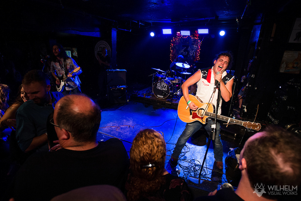 The Yawpers perform at 3 Kings Tavern during Underground Music Showcase in Denver, CO, USA, on 24 July, 2015.
