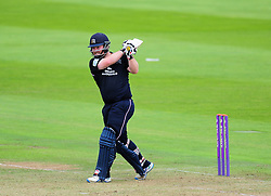 Paul Stirling of Middlesex hits down the ground.  - Mandatory by-line: Alex Davidson/JMP - 26/07/2016 - CRICKET - Cooper Associates County Ground - Taunton, United Kingdom - Somerset v Middlesex - Royal London One Day