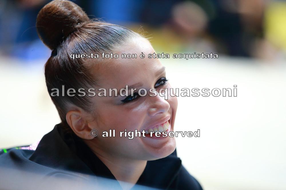 Ekaterina Selezneva was born May 18, 1995 in Pushkino.She is a very good russian individual rhythmic gymnast.She is trained by her mother, Olga Nazarova Nikolaevna.