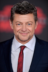 Andy Serkis attends the world premiere of Disney Pictures and Lucasfilm's 'Star Wars: The Last Jedi' at The Shrine Auditorium on December 9, 2017 in Los Angeles, CA, USA. Photo by Lionel Hahn/ABACAPRESS.COM
