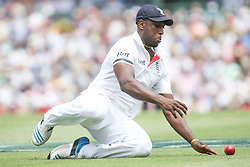© Licensed to London News Pictures. 03/01/2014. Michael Carberry fielding during the 5th Ashes Test Match between Australia Vs England at the SCG on 03 January, 2013 in Melbourne, Australia. Photo credit : Asanka Brendon Ratnayake/LNP