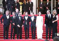 The cast and director on the red steps at The Immigrant film gala screening at the Cannes Film Festival Friday 24th May May 2013