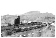 View of Durango yard looking north.<br /> D&RGW  Durango, CO  <br /> Same image as RD003-057 and RD003-073.