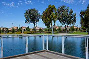 The Reflecting Pools at the Orange County Great Park