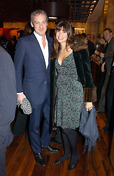 ANTON BILTON and his wife LISA B at the opening party of Pengelley's, 164 Sloane Street, London SW1 on 22nd February 2005.<br />