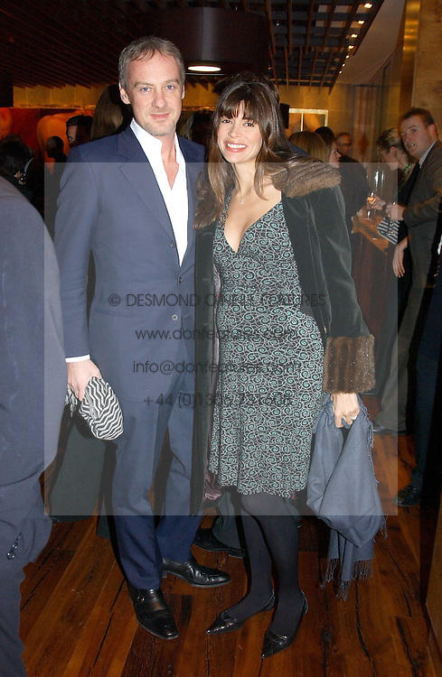 ANTON BILTON and his wife LISA B at the opening party of Pengelley's, 164 Sloane Street, London SW1 on 22nd February 2005.<br /><br />NON EXCLUSIVE - WORLD RIGHTS