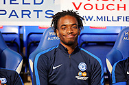 Peterborough United forward Ivan Toney (17) before the EFL Sky Bet League 1 match between Peterborough United and Accrington Stanley at London Road, Peterborough, England on 20 October 2018.