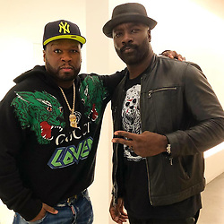 """50 Cent releases a photo on Instagram with the following caption: """"Me and my boy @realmikecolter working on something big get ready we ready. #lecheminduroi"""". Photo Credit: Instagram *** No USA Distribution *** For Editorial Use Only *** Not to be Published in Books or Photo Books ***  Please note: Fees charged by the agency are for the agency's services only, and do not, nor are they intended to, convey to the user any ownership of Copyright or License in the material. The agency does not claim any ownership including but not limited to Copyright or License in the attached material. By publishing this material you expressly agree to indemnify and to hold the agency and its directors, shareholders and employees harmless from any loss, claims, damages, demands, expenses (including legal fees), or any causes of action or allegation against the agency arising out of or connected in any way with publication of the material."""