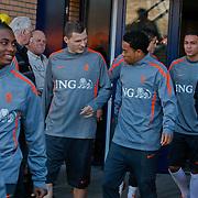 NLD/Katwijk/20110321 - Training Nederlandse Elftal Hongarije - NLD, Urby Emanuelson